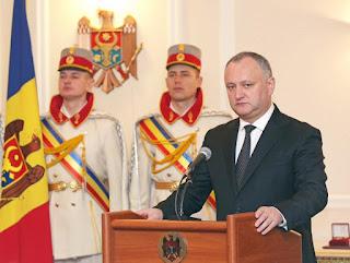 il presidente Igor Dodon
