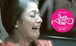 Nayanthara cries in the car | Raja Rani Tamil Movie Scenes | Arya | Sathyaraj | Jai | Atlee