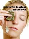 Benefits of tea compresses for treating eye wrinkles