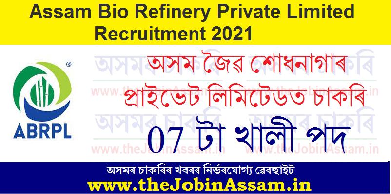 Assam Bio Refinery Private Limited (ABRPL)