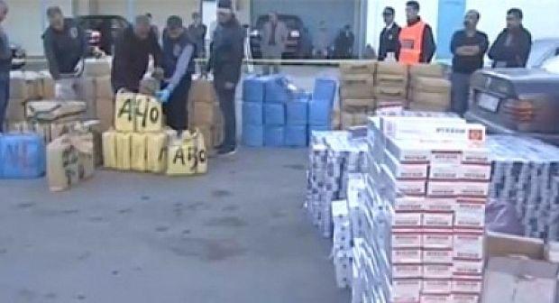 تفكيك شبكة مختصة في الإتجار في المخدرات وحجز 12 طنا و612 غرام من مخدر الشيرا وبندقية