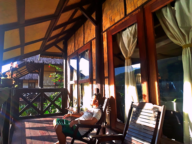 Marky Ramone Go chilling in Nong Kiau Riverside