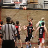 Teenager's basketball game