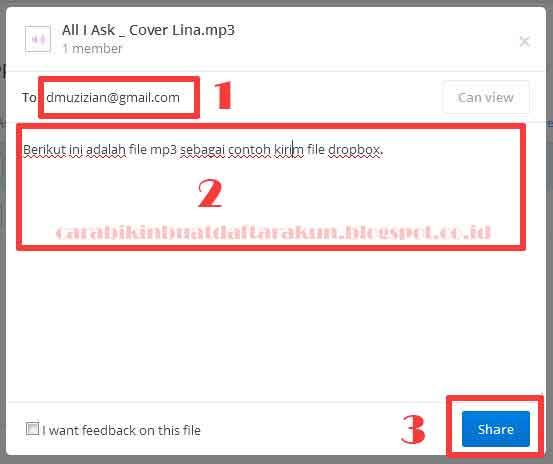 Tips Cara Kirim File Lewat Dropbox mudah