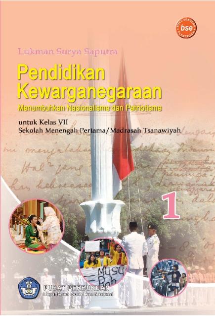 Download Buku Siswa KTSP SMP dan MTs Kelas 7 PKn Menumbuhkan Nasionalisme dan Patriotisme