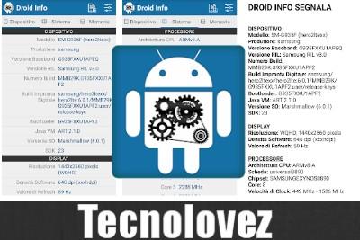 Droid Hardware Info  - Applicazione per avere tutte le informazioni dettagliate del vostro dispositivo android
