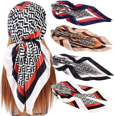 Satin Head Scarves