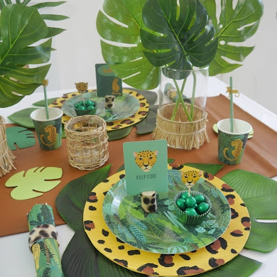 Jungle Party Ideas and DIY Decor