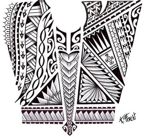 Dibujos Maories Para Tatuar Great Tatuaje Polinesio With Dibujos
