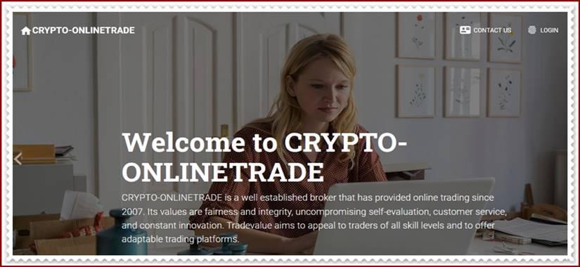 Мошеннический сайт crypto-onlinetrade.com – Отзывы, развод, платит или лохотрон? Мошенники