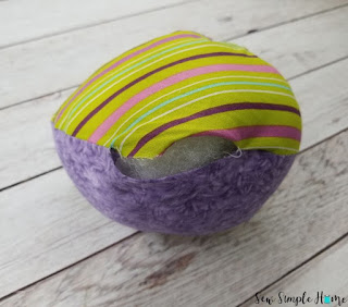 cloth easter eggs