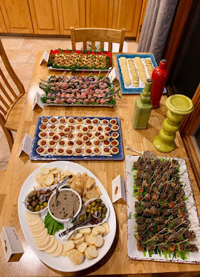 Appetizers at Friday Party