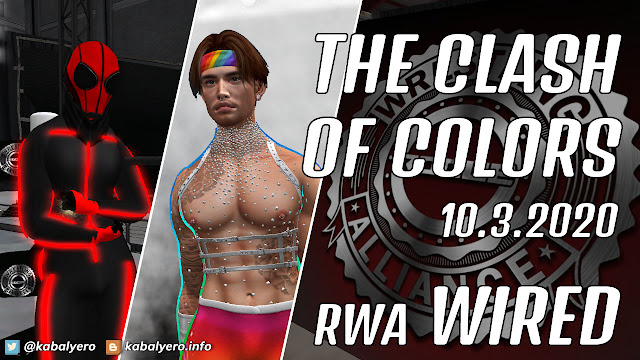 The Sandman vs Dylan Mattel • RWA WIRED (10.3.2020) [SECOND LIFE WRESTLING]