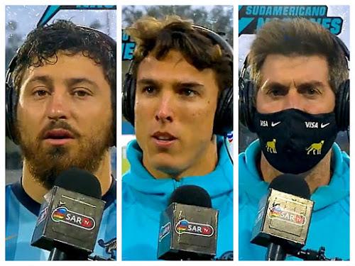 Ortega Desio, Cubilla y Fernández Lobbe #ArgentinaXV #SAR4N