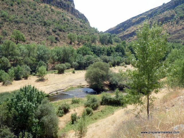 valle del Lozoya en Madrid cerca de Patones