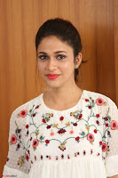Lavanya Tripathi in Summer Style Spicy Short White Dress at her Interview  Exclusive 241.JPG