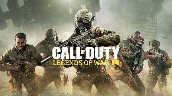 تحميل لعبة Call of Duty Legends of war من على الشير