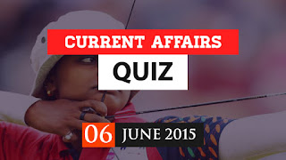 Daily Current Affairs Quiz june 6th 2017