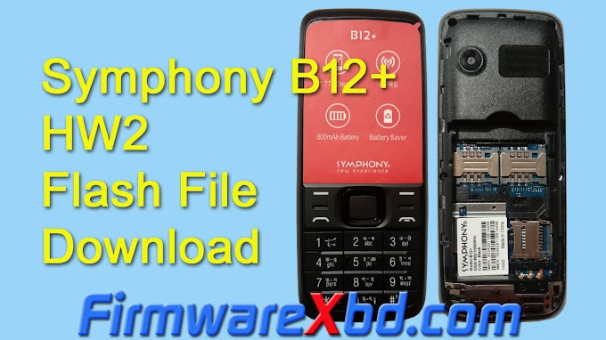 Symphony B12+ HW2 Flash File Download 6531E Without Password