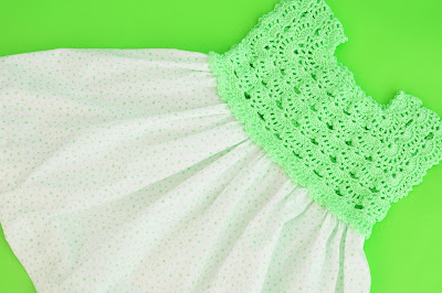 5 -Crochet Imagen Falda para canesú rosa a crochet y ganchillo por Majovel Crochet