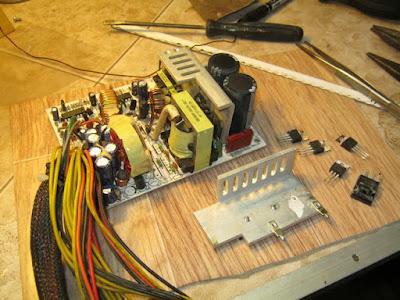 демонтаж низковольтного радиатора