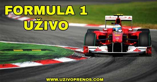 Formula 1 uzivo preko interneta