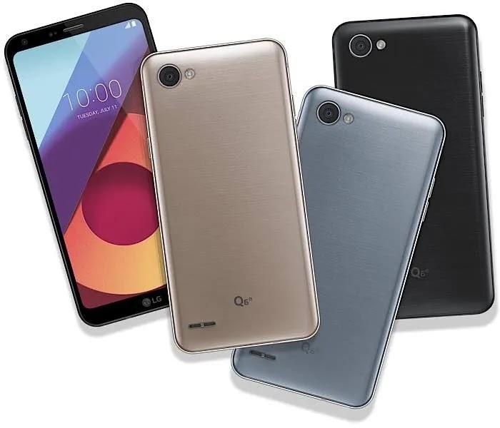 LG Smartphones End Quad
