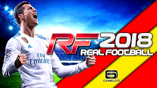 Real Football 2018 Android Offline 500 MB New Menu Best Graphics