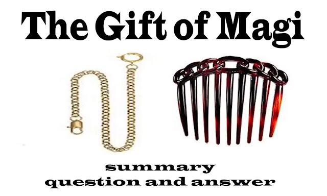 The gift of the magi summary