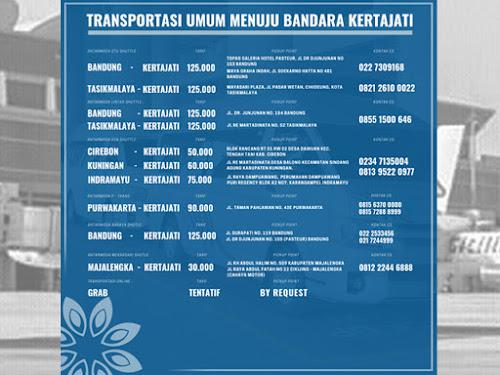 Transportasi umum ke BIJB Kertajati