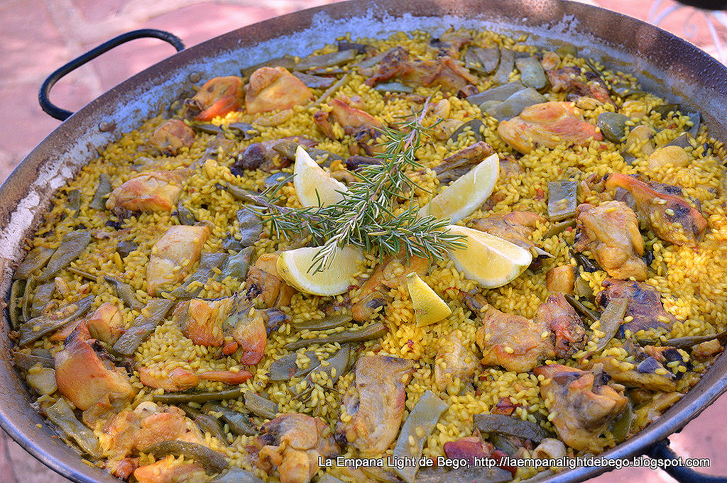 how to cook paella valenciana