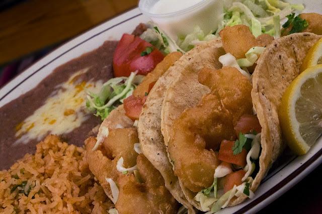 Beer Batter Shrimp Tacos