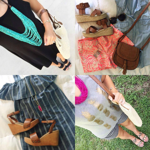 summer style, summer outfits, mom style