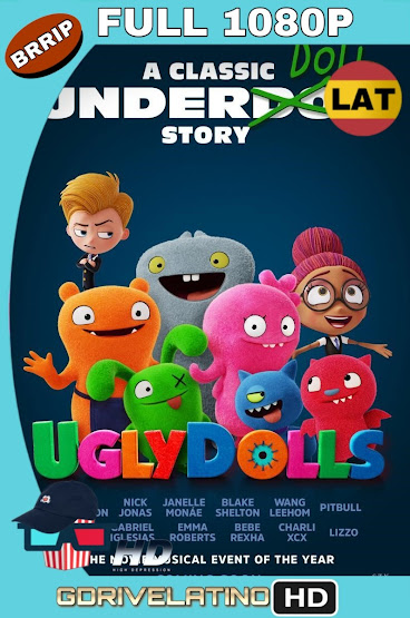 UglyDolls: Extraordinariamente Feos (2019) BRRip 1080p Latino-Ingles MKV