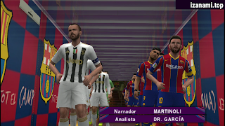 (400MB) PES 2020 PPSSPP Camera PS4 Android Offline Best Graphics New Kits 2020-21 & Transfers Update