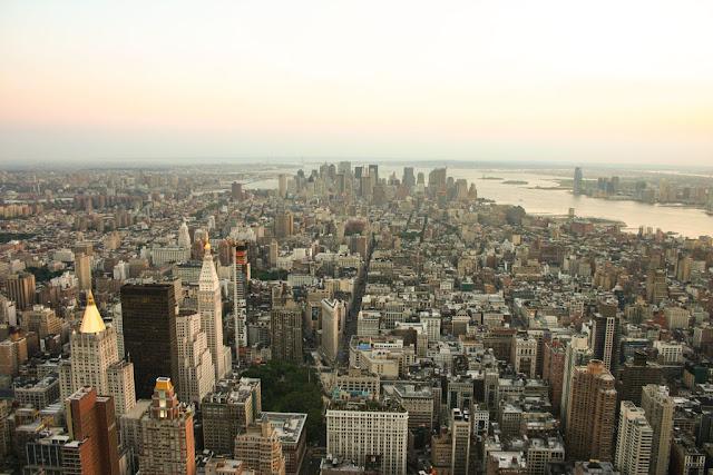 Vista dall'Empire State building-New York