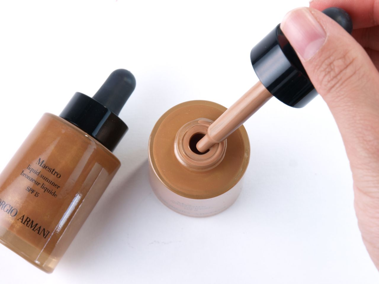 Giorgio Armani Maestro Liquid Summer Bronzers: Review and Swatches