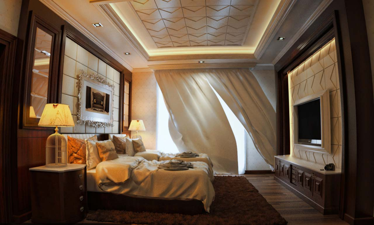 SKETCHUP TEXTURE: Awesome free sketchup model chic bedroom ...