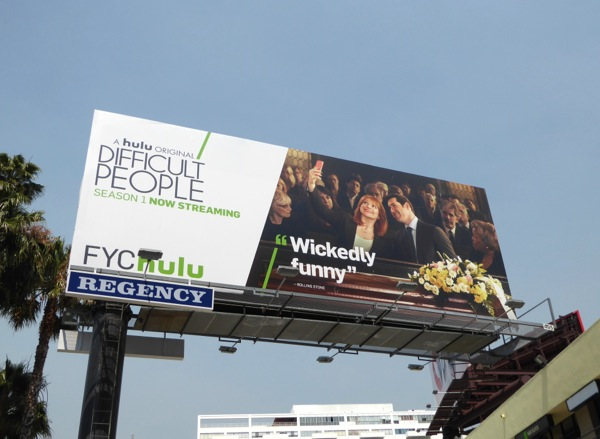 Difficult People 2016 Emmy consideration Hulu billboard
