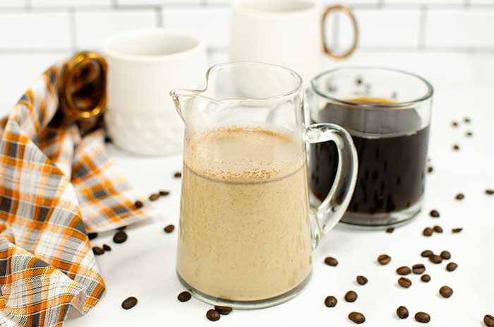 Instant Pot Pumpkin Spice Coffee Creamer