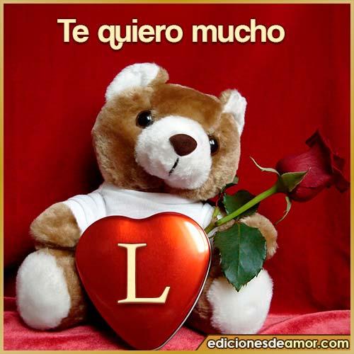 te quiero mucho L