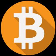 bitcoin colorful icon