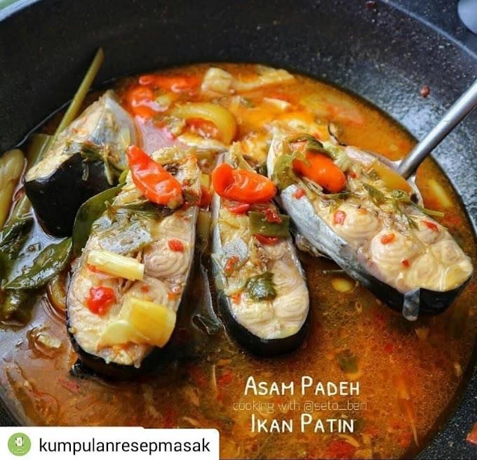 Asam Padeh Ikan Patin - Resep Olahan Ikan