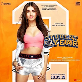 New Poster : Tara Sutaria in SOTY 2