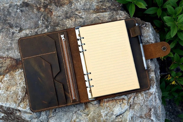 Personalized Journal Leather Cover