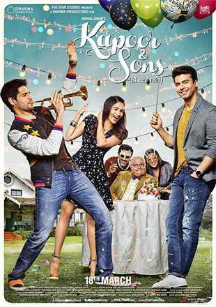 Kapoor & Sons 2016 Full Hindi Movie Download BRRip 720p