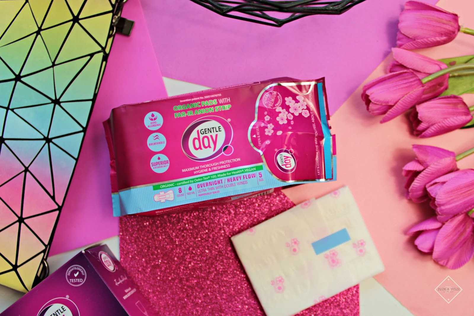 Skuteczna pomoc w okresie menstruacji GENTLE DAY