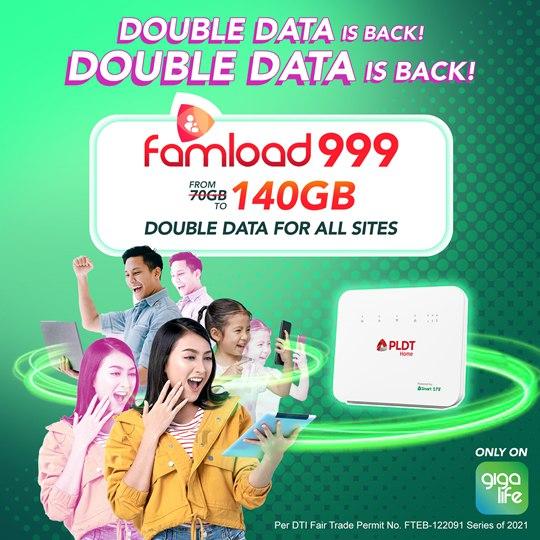 Smart Bro Double Data for Prepaid Home WiFi