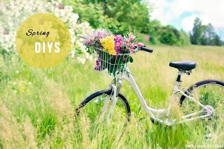 DIYs con flores para la Primavera