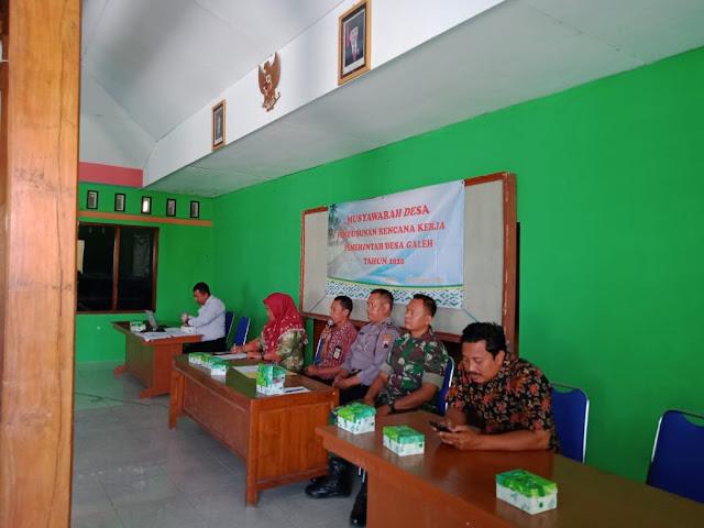 Musyawarah Desa Penyusunan RKP Desa Galeh